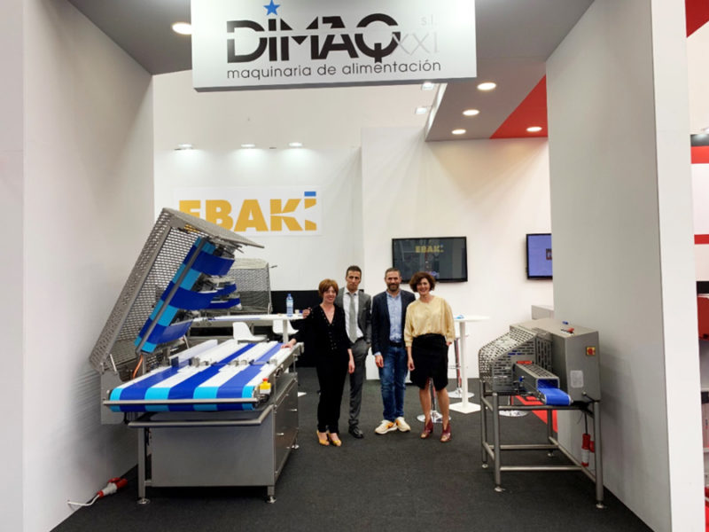 Fileteadora Ebaki mini en la feria IFFA 2019