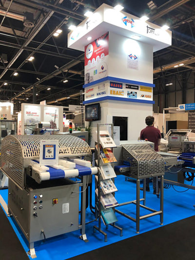 Cortadora horizontal Ebaki en la feria Meat Attraction 2019